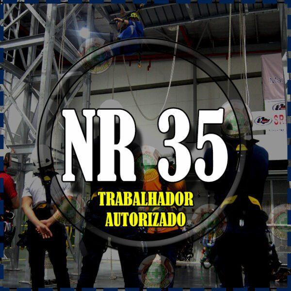 Curso de nr 35 (trabalho em altura - Trabalhador autorizado